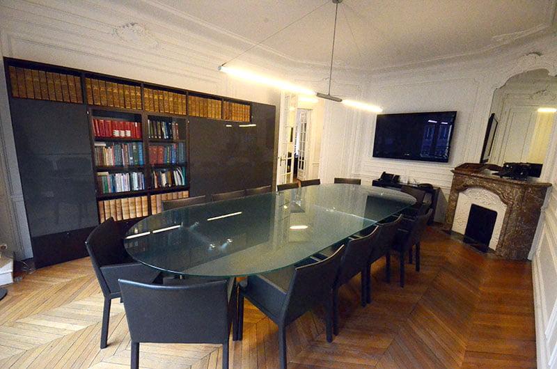 Salle de réunion Abergel & Associés
